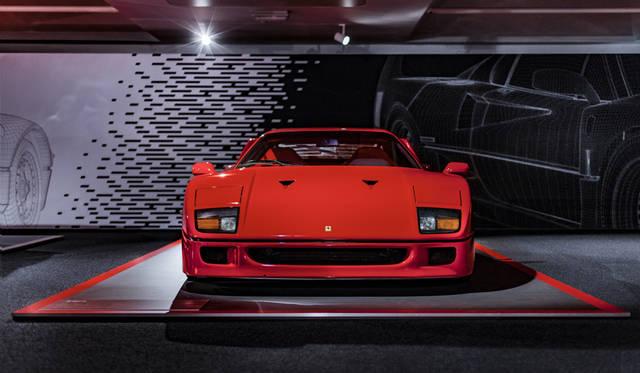 1987年に創業40周年を記念し製作されたF40。