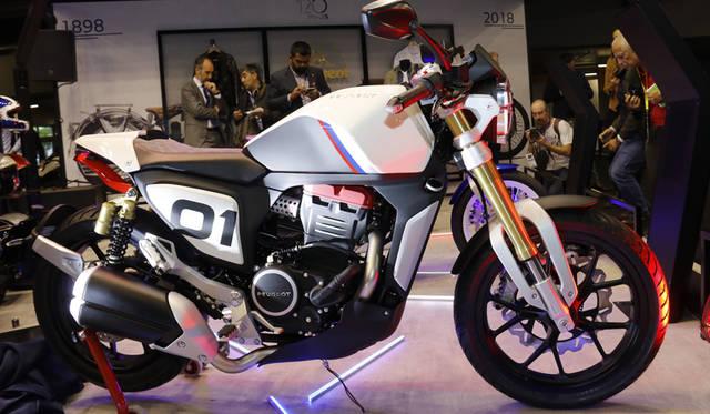 Peugeot P2X Cafe Racer