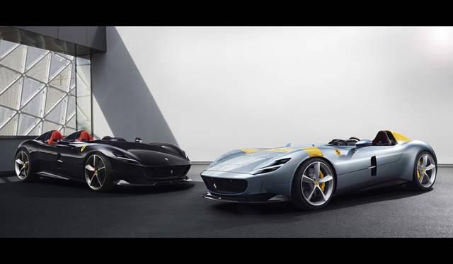 Ferrari Monza SP2|フェラーリ モンツァ SP2(左)、Ferrari Monza SP1|フェラーリ モンツァ SP1(右)