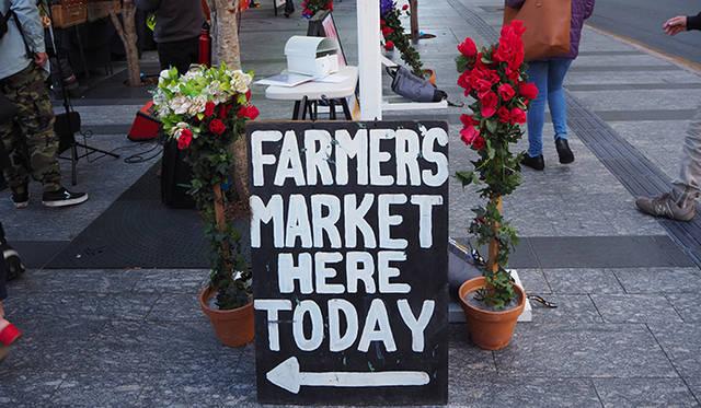 ウェスティン・ブリスベンのシェフもマーケットの常連。