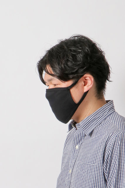 コットン製「やわマスク」