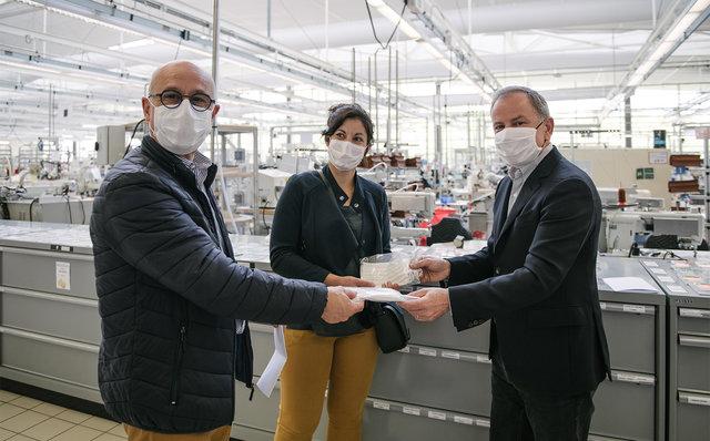 ルイ・ヴィトン 医療用防護マスクの生産