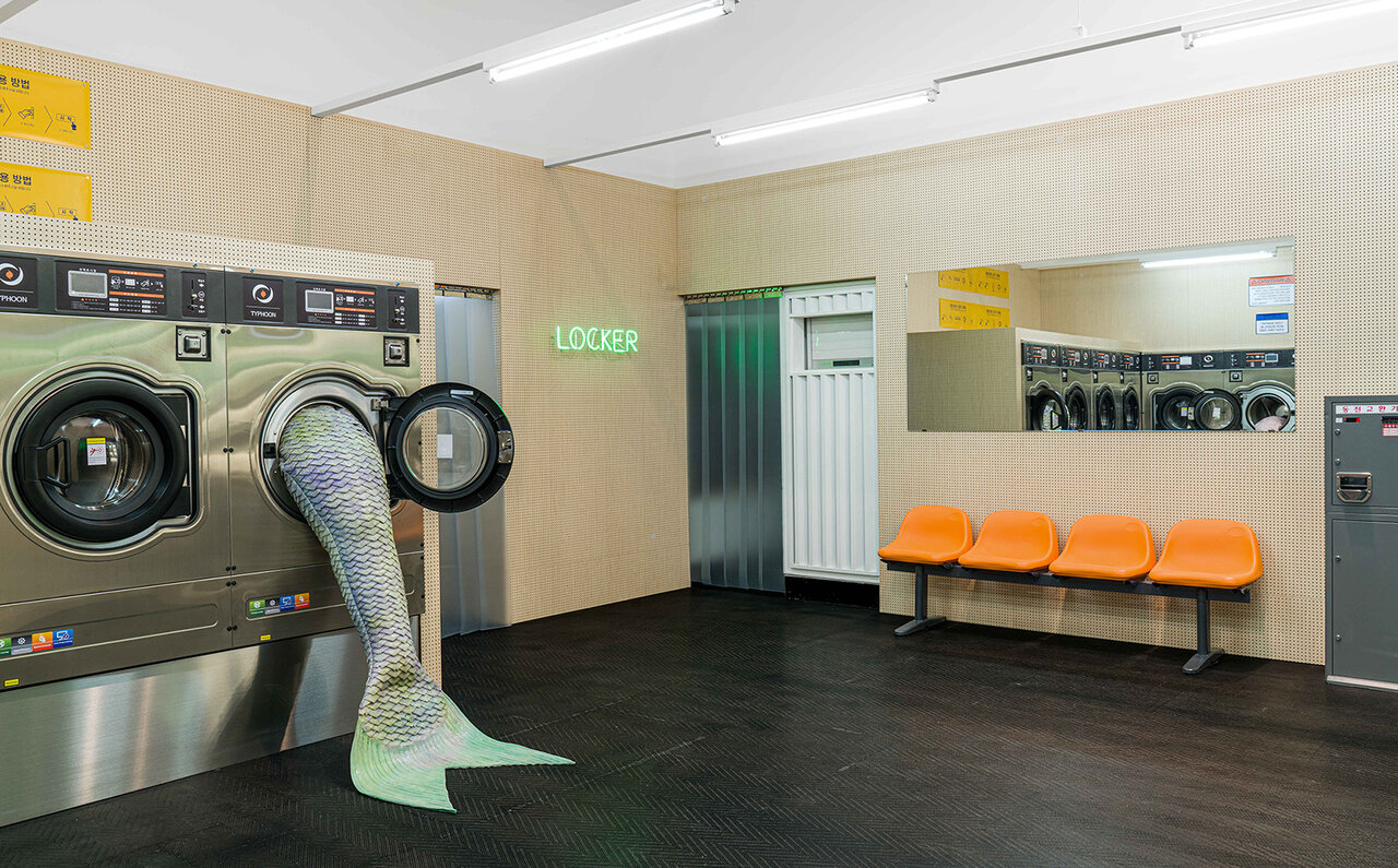 Olivia Erlanger, Ida, Ida, Ida!, 2020. Exhibition view, No Space Just a Place, Daelim Museum, Seoul (2020)
