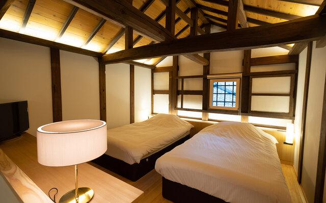 鎌倉古今 102号室 ベッドルーム