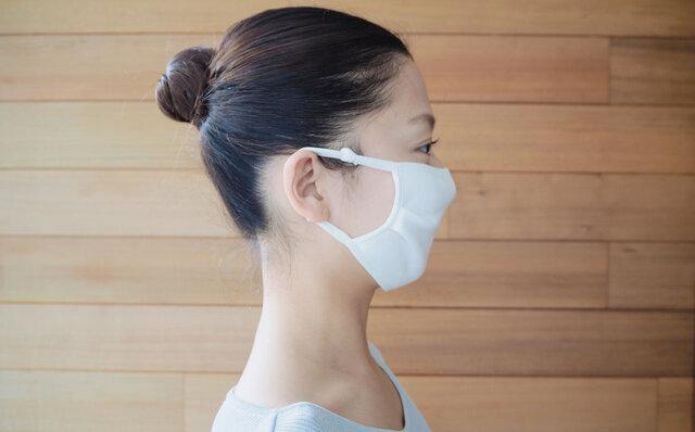 触感冷感コットンマスク Mizuone