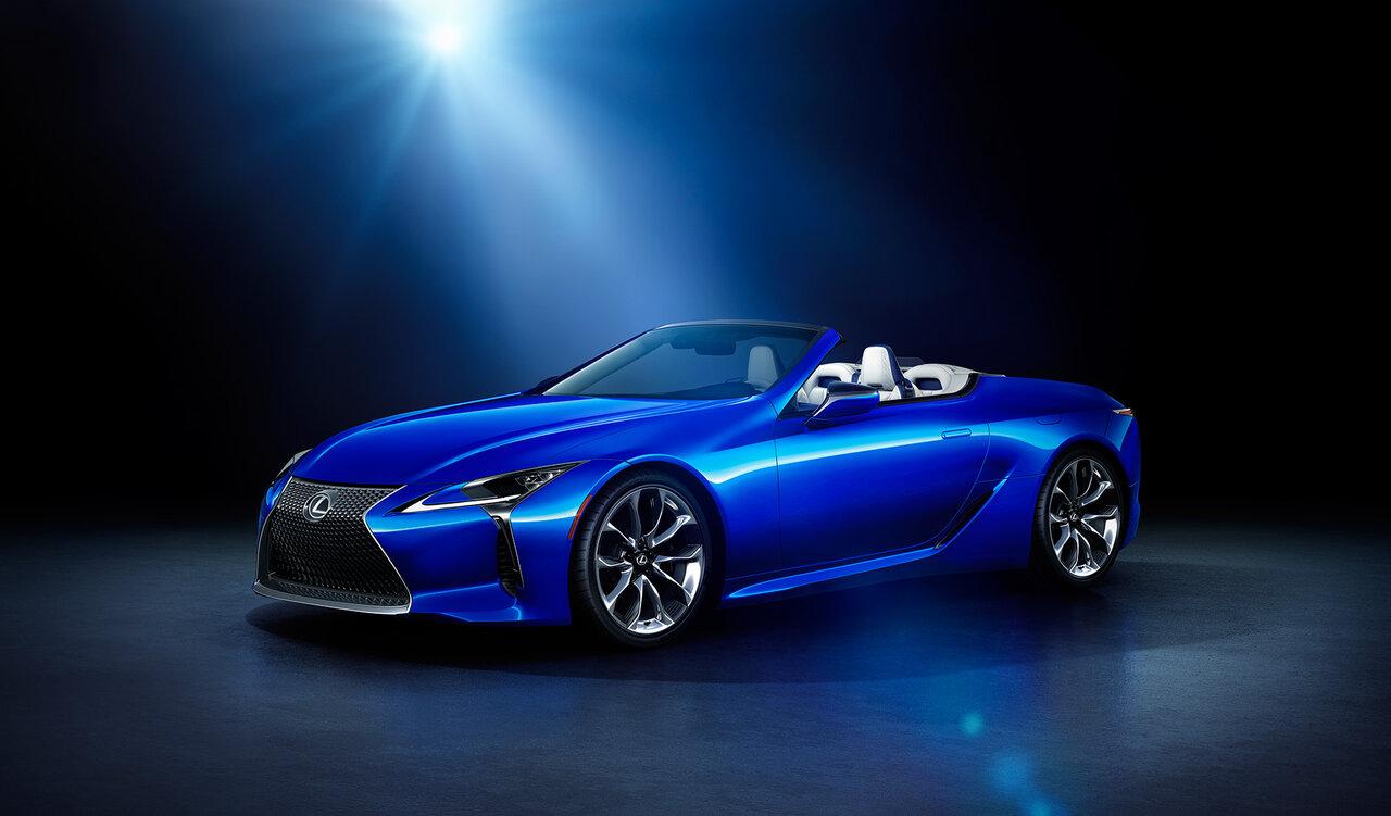 "LC500コンバーチブル""Structural Blue"""