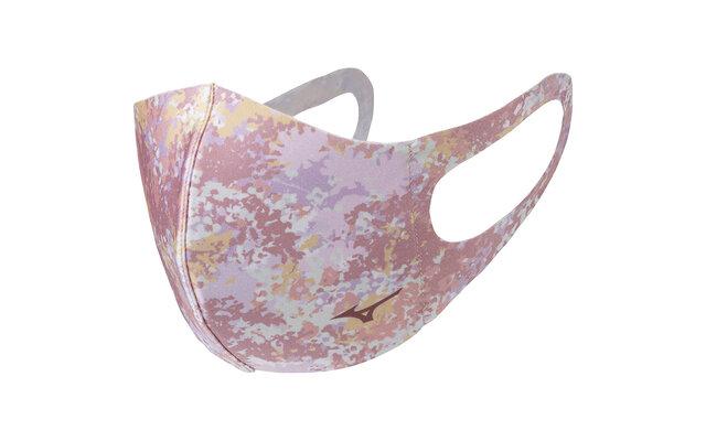 ミズノ マウスカバー 花柄(ピンク)