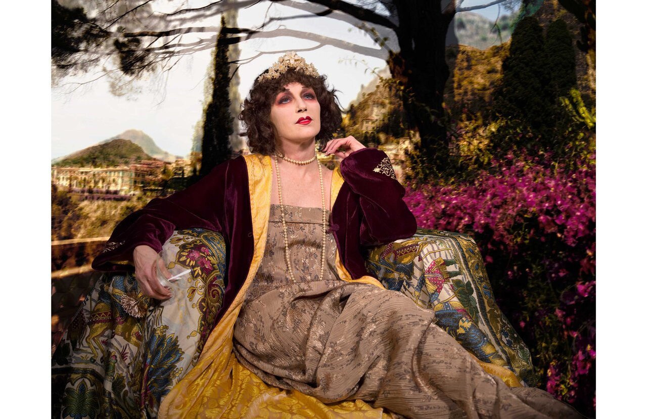Cindy Sherman  Untitled #582, 2016  Dye sublimation metal print  137.2 x 178.4 cm  Courtesy of the Artist and Metro Pictures、New York © 2019 Cindy Sherman