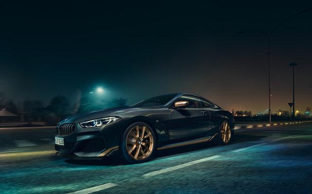BMW M850i xDrive Edition Golden Thunder エクステリア