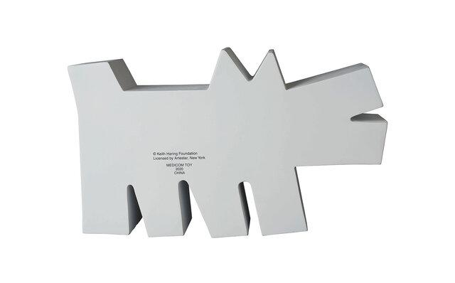メディコム Barking Dog STATUE WHITE Ver.
