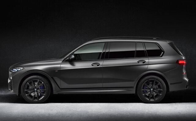 BMWから存在感のある漆黒をまとう7台のみのX7限定車が登場