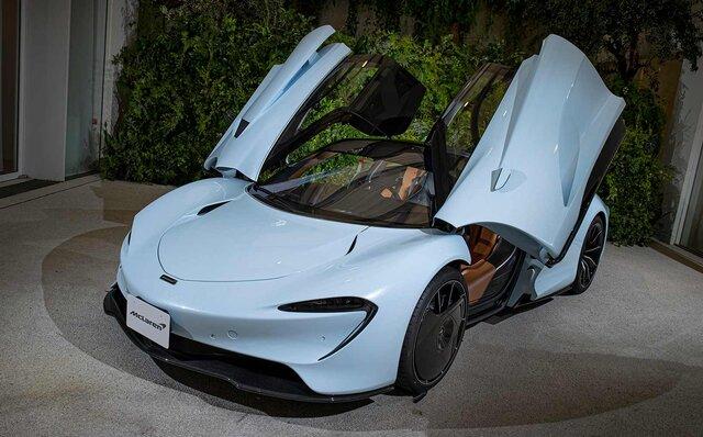 マクラーレン史上最速のハイパーカー「スピードテール」がジャパンプレミア|McLaren