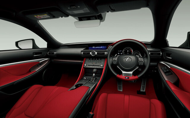 レクサス 、「RC」と「RC F」を一部改良|Lexus