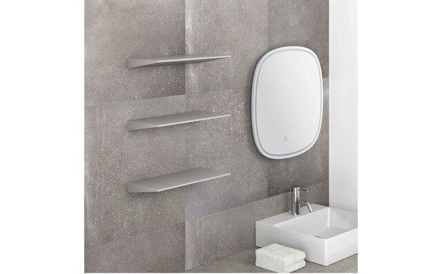 一枚の薄い板だけが浮かび上がるようなデザインの壁付け棚が新登場 sanwacompany