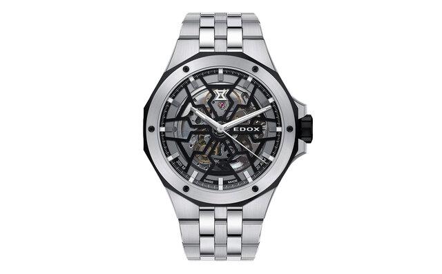 砂時計をモチーフにしたカットワークで魅せる「デルフィン メカノ オートマティック」 EDOX