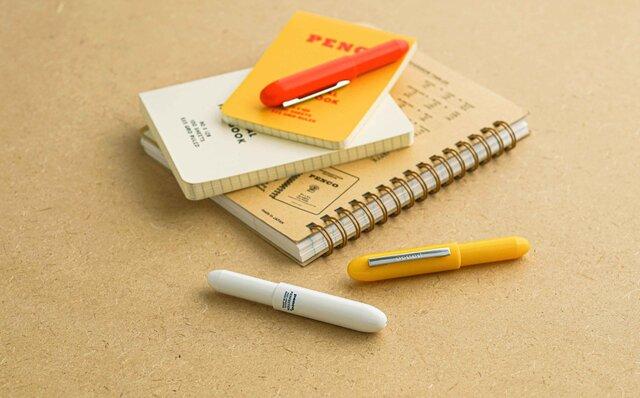 重量はわずか8グラム。バレット型ボールペンのライトモデルが発売 penco