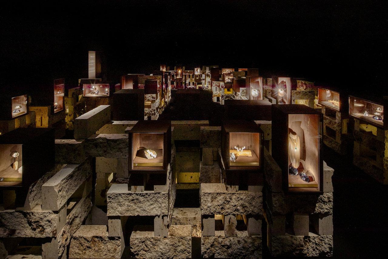 展示風景 第2章 新素材研究所 © N.M.R.L/Hiroshi Sugimoto + Tomoyuki Sakakida