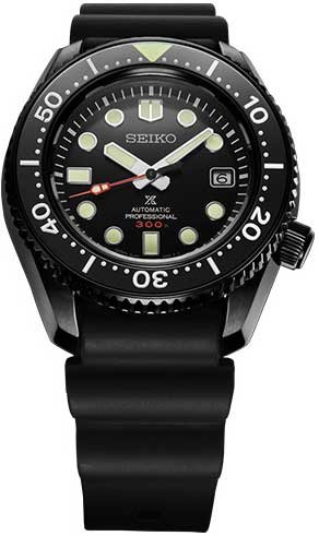 Marinemaster Professional The Black Series Limited Edition SBDX033 Ref.|SBDX033