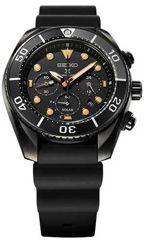 Diver Scuba The Black Series Limited Edition SBDL065 Ref.|SBDL065