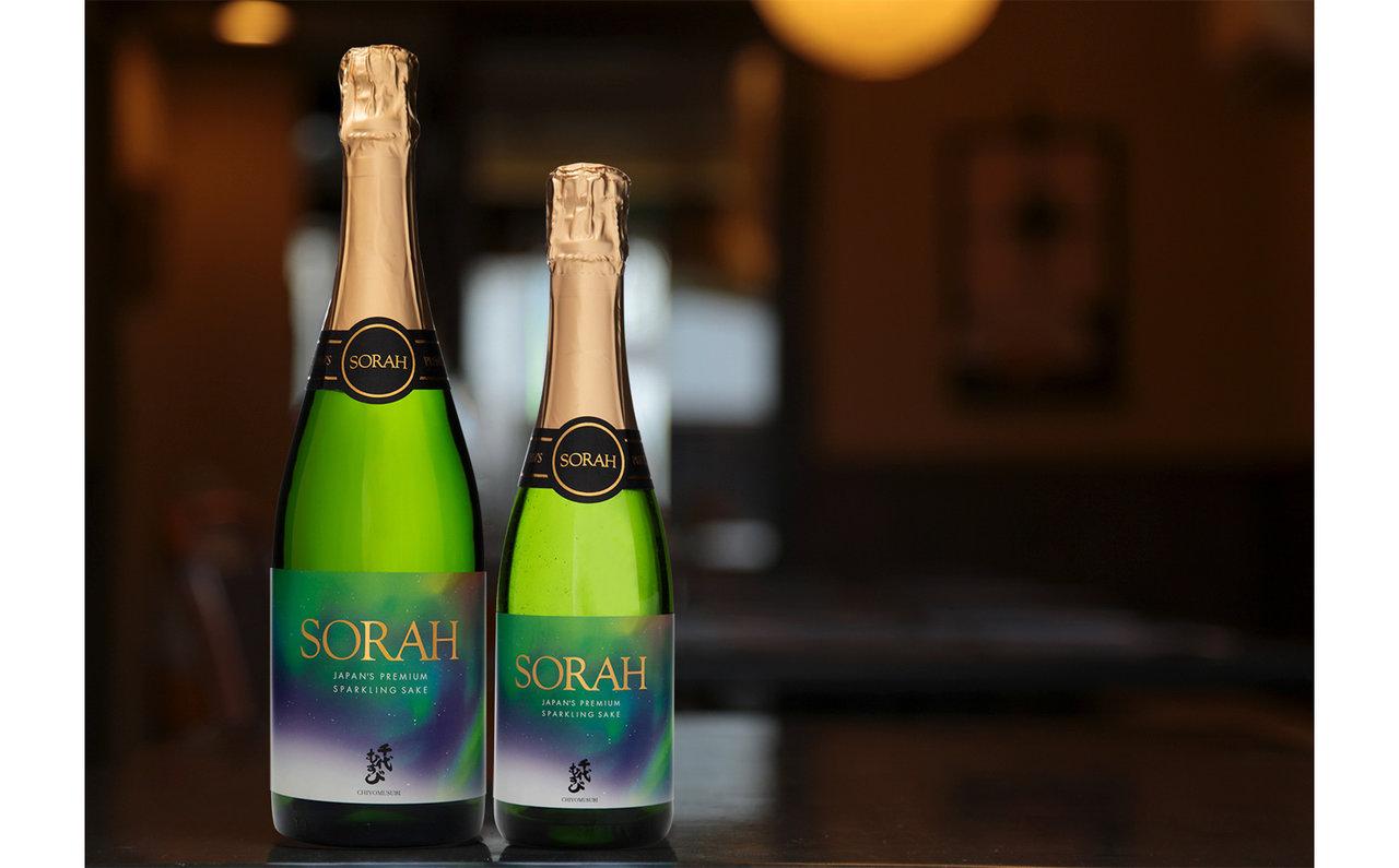 日本酒スパークリング「SORAH」