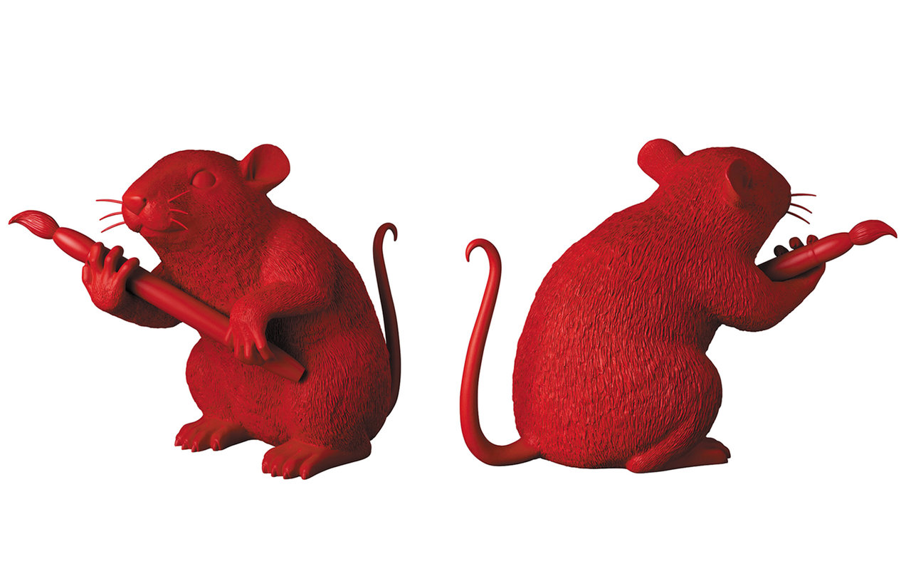 MEDICOM TOY LOVE RAT(RED Ver.)