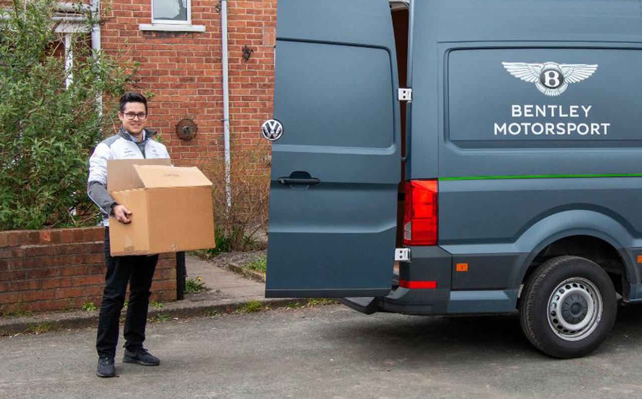 フードバンクへの物資の輸送も支援