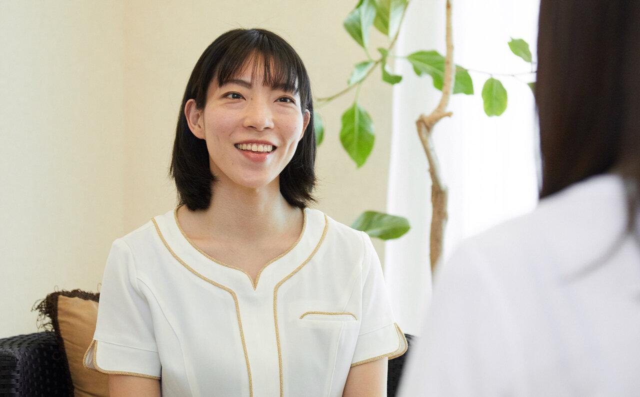 「ANGELIQUE BEAUTY」オーナー兼エステティシャンの宮本麻未さん