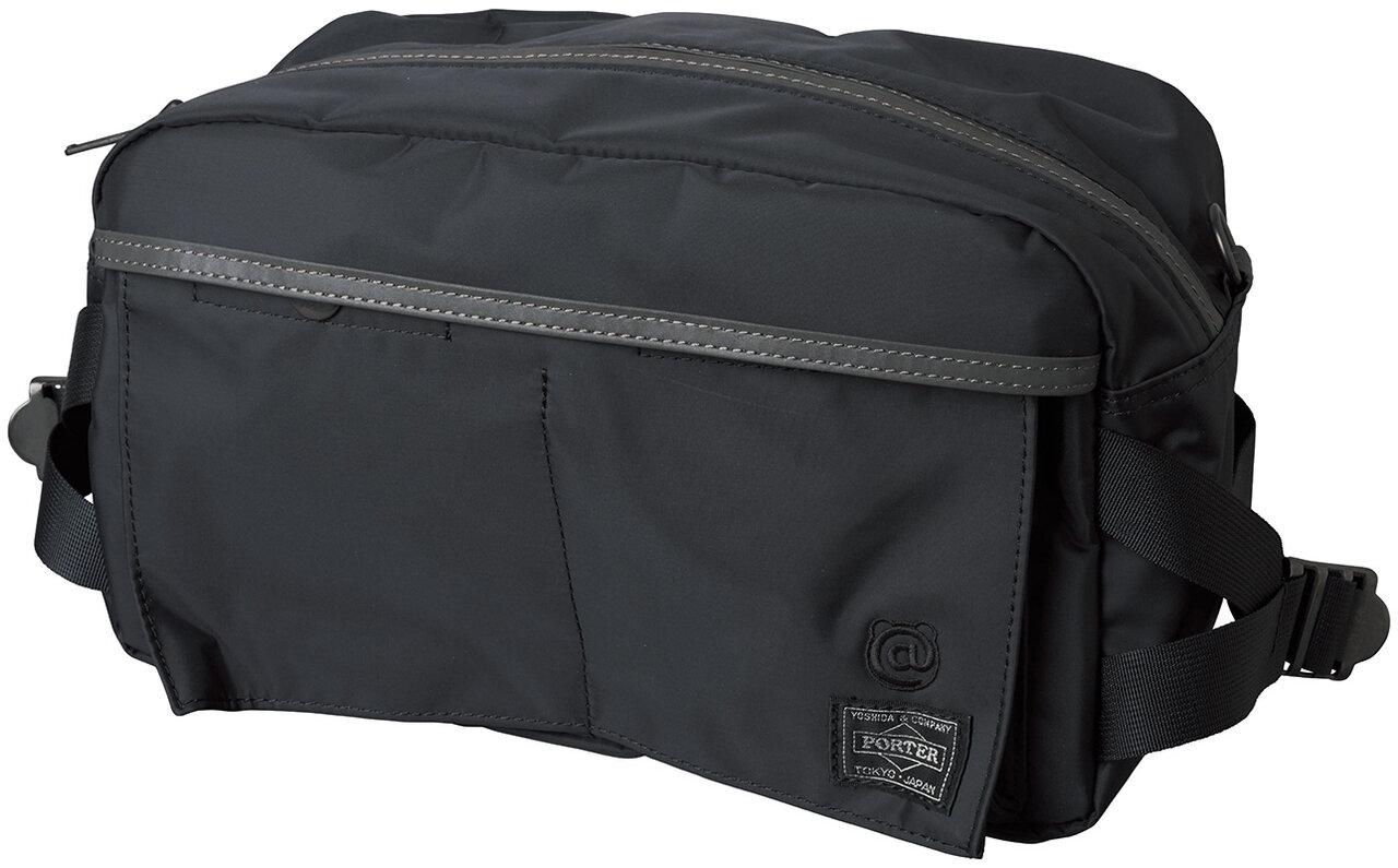 BLACK / REFLECTIVE WAIST BAG