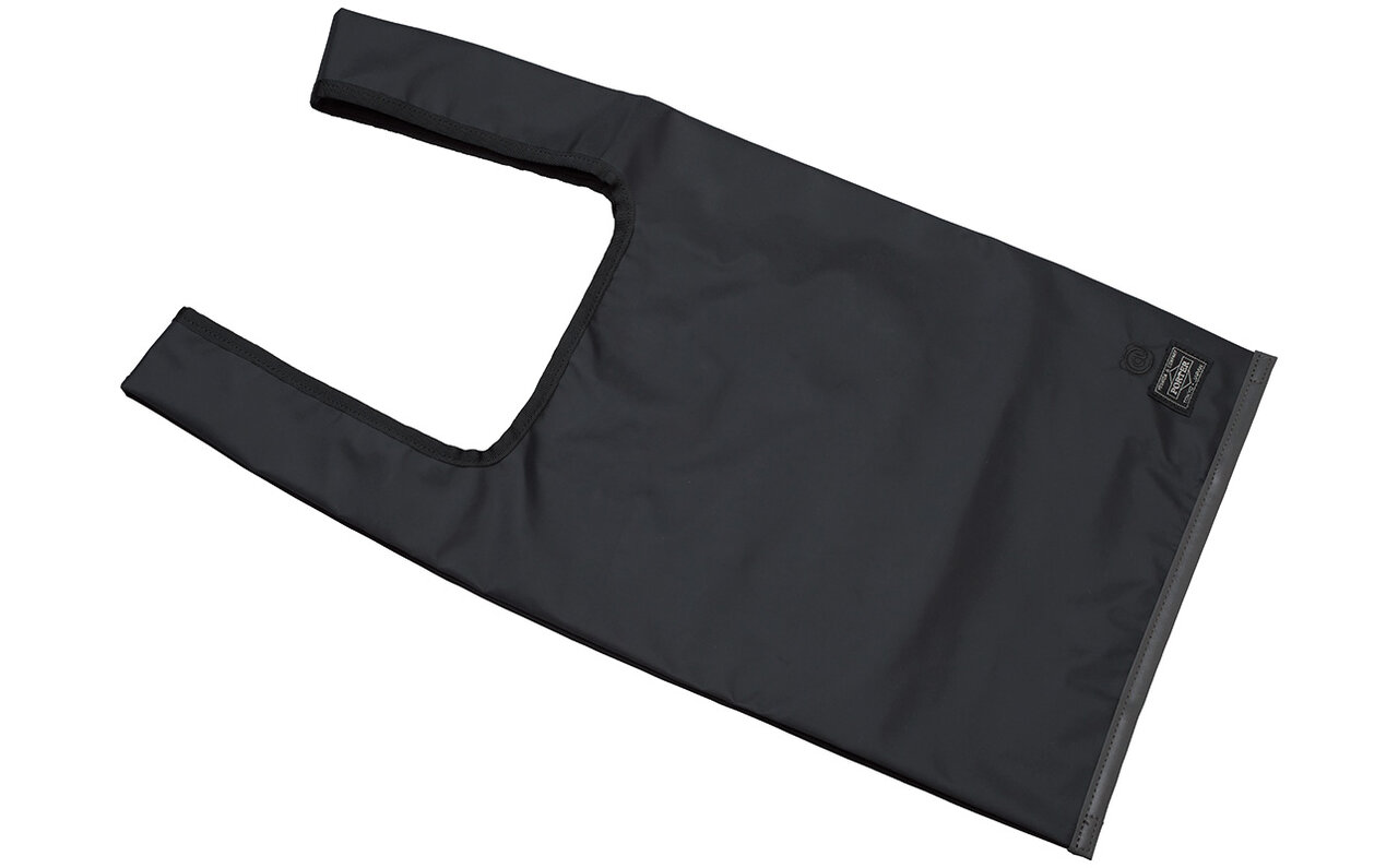 BLACK / REFLECTIVE SHOPPING BAG