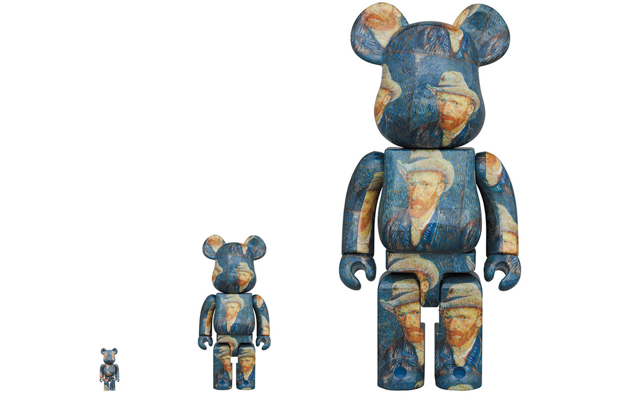 BE@RBRICK TM & ©️ 2001-2020 MEDICOM TOY CORPORATION. All rights reserved. 🄬 Van Gogh Museum, ©️ VGME B.V.