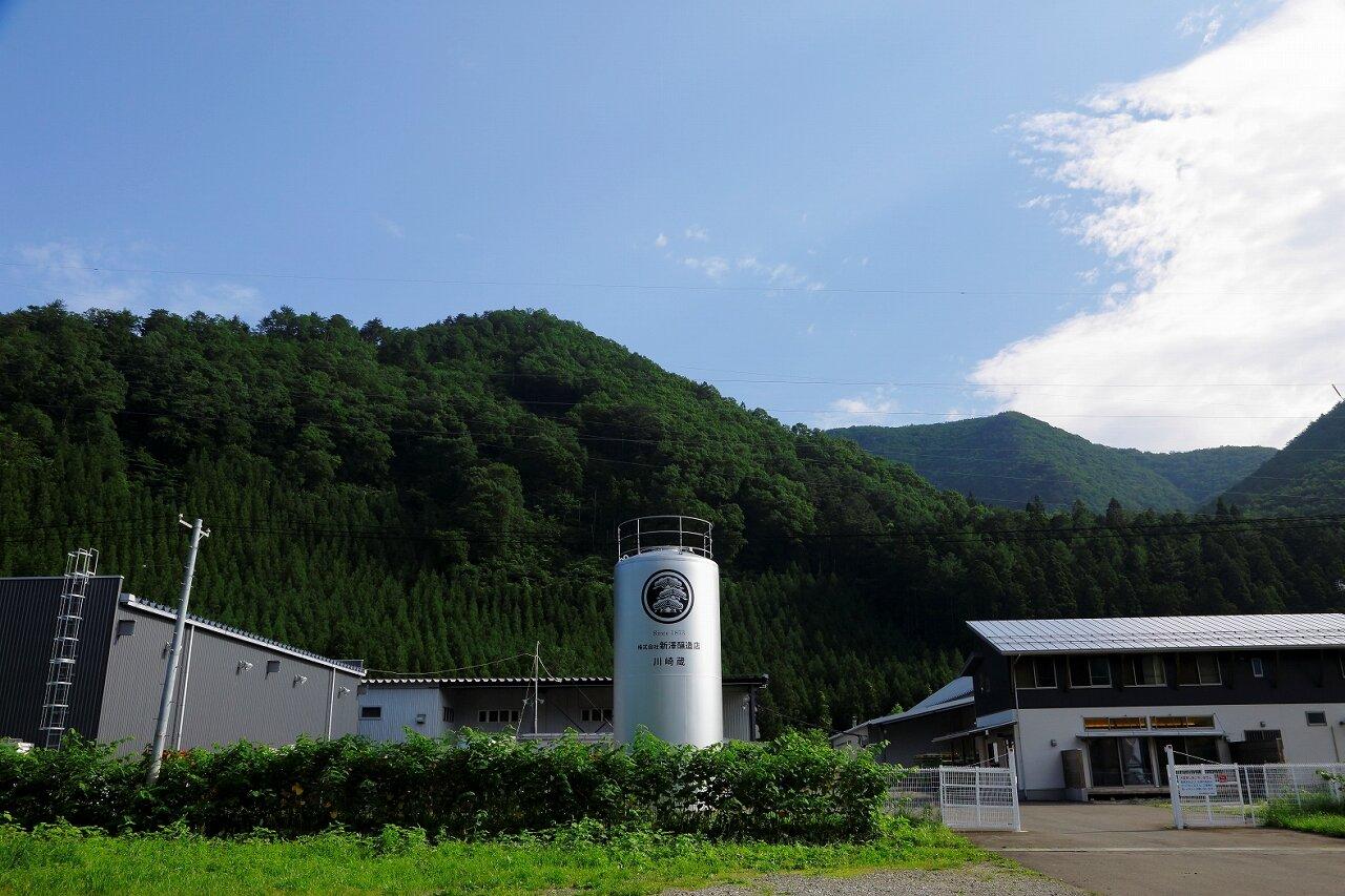 新澤酒造の外観