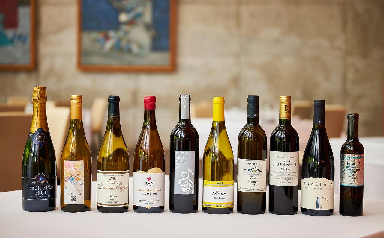 「ヴィノ・エ・ヴェルドゥーラ」のペアリングワイン。こちらすべて堪能できます。ワイン好きには、もうたまらん!!