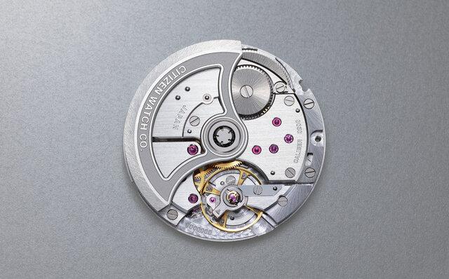 新開発した自社製機械式ムーブメント「Caliber 0200」を搭載したメカニカルモデル|CITIZEN