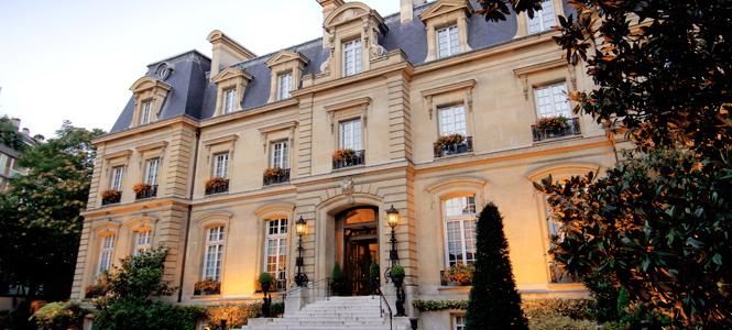 9. フランス・パリ「The Saint James Paris」