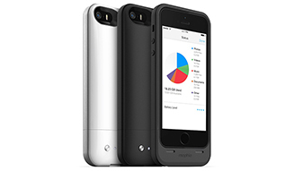mophie space pack ストレージ内蔵バッテリーケース for iPhone 5s/5 03