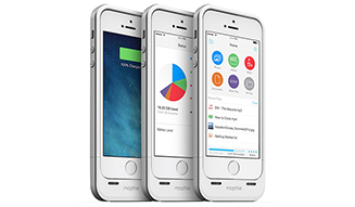 mophie space pack ストレージ内蔵バッテリーケース for iPhone 5s/5 02