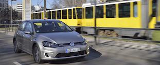 フォルクスワーゲンの電気自動車「eゴルフ」に試乗