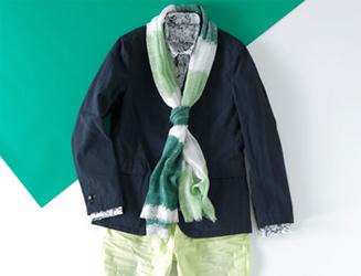阪急メンズ|グリーン 02