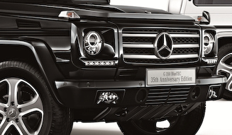 Mercedes-Benz G 350 BlueTEC 35th Anniversary Edition メルセデス・ベンツ G 350ブルーテック 35th アニバーサリー エディション