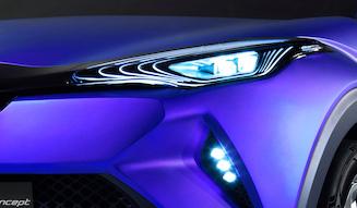 Toyota C-HR concept トヨタ C-HR コンセプト