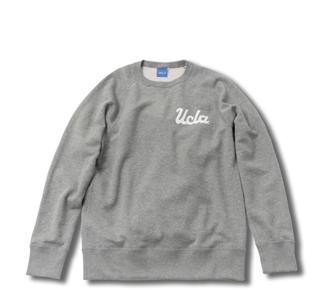 la kagū|ループウィラーに別注したスウェットシャツ 02