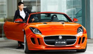 Jaguar F-Type Convertible Kei Nishikori Edition|ジャガー Fタイプ KEI NISHIKORI エディション