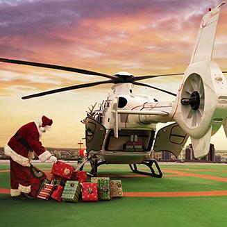Xmas ヘリコプタークルーズ