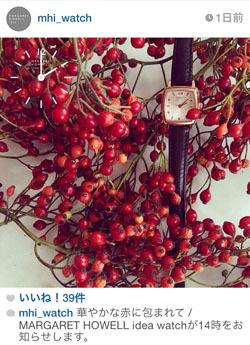 MARGARET HOWELL|instagramキャンペーン