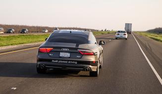 Audi A7 Sportback piloted driving concept アウディ A7 スポーツバック 自動運転コンセプトカー