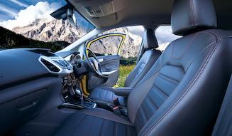 Ford Ecosport Bright Yellow│フォード エコスポーツ ブライト イエロー