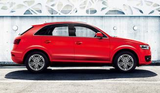 Audi Q3 color selection Misano Red アウディ Q3 カラーセレクション ミサノレッド