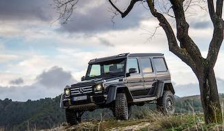 Mercedes-Benz G 500 4×4²|メルセデス・ベンツ G 500 4×4²
