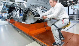 Audi Chairless Chair|アウディ チェアレス チェア