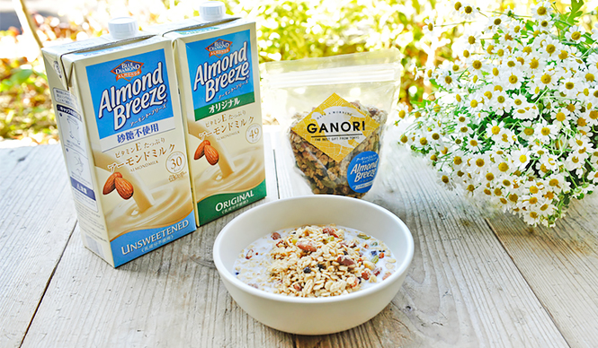 グラノーラ「Almond Breeze Morning Chamomile MIX」